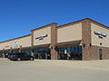 Evan Lloyd Architects - Meadowbrook Retail Center in Springfield, Illinois - retail architectural services - front view.