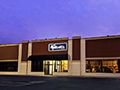 Evan Lloyd Architects - The Music Shoppe in Springfield and Champaign, Illinois - exterior view.