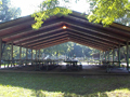 Evan Lloyd Architects - Lincoln's New Salem State Historic Site in Menard County, Illinois - new picnic shelter.