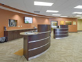 Evan Lloyd Architects - Prairie State Bank in Bloomington, Decatur, Jacksonville, and Springfield, Illinois - desk.