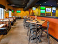 Evan Lloyd Architects - Public House 29 in Rochester, Illinois - booth in the new restaurant.