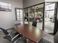 Evan Lloyd Architects - Roberts Automotive in Springfield, Illinois - new dealership conference room.