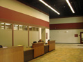 Evan Lloyd Architects - Sangamon County Public Health Building in Springfield, Illinois - desk area, after the renovation.