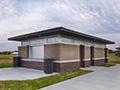 Evan Lloyd Architects - park architectural services - Sherman Municipal Park in Sherman, Illinois - public park restrooms