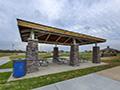 Evan Lloyd Architects - park architectural services - Sherman Municipal Park in Sherman, Illinois - outdoor pavillion