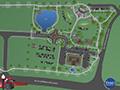 Evan Lloyd Architects - park architectural services - Sherman Municipal Park in Sherman, Illinois - original site plan
