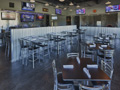 Evan Lloyd Architects - Fire & Ale restaurant in Sherman, Illinois - seating area.