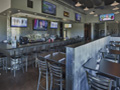 Evan Lloyd Architects - Fire & Ale restaurant in Sherman, Illinois - tables and dining area.