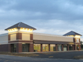 Evan Lloyd Architects - Sherman Retail Center in Sherman, Illinois - retail architectural services.