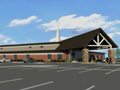 Evan Lloyd Architects - Springfield Southern Baptist Church in Springfield, Illinois - religious architectural services - exterior artist's rendering.