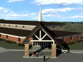 Evan Lloyd Architects - Springfield Southern Baptist Church in Springfield, Illinois - religious architecture - exterior artist's rendering.