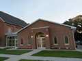 Evan Lloyd Architects - St. Luke's Parish in Virginia, Illinois - exterior view.