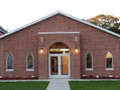 Evan Lloyd Architects - St. Luke's Parish in Virginia, Illinois - front view.