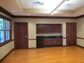 Evan Lloyd Architects - St. Luke's Parish in Virginia, Illinois - conference room.