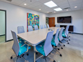 Evan Lloyd Architects office architecture services - Systemax Solutions in Springfield, Illinois - conference room.
