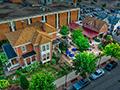 Evan Lloyd Architects - Wm Van's Coffee House in Springfield, Illinois - restaurant architecture services - aerial photo.
